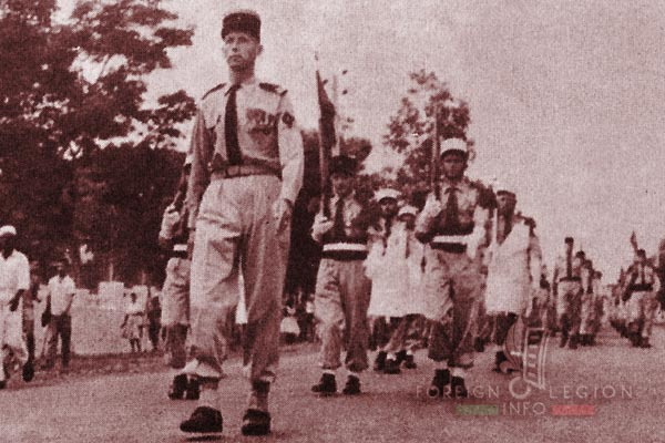 BLEM - Foreign Legion Madagascar Battalion - Foreign Legion Etrangere - 1960 - Camerone - Madagascar - De La Bigne de Villeneuve