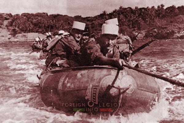 BLEM - Foreign Legion Madagascar Battalion - Foreign Legion Etrangere - 1960 - Madagascar - CIOA - Zodiac