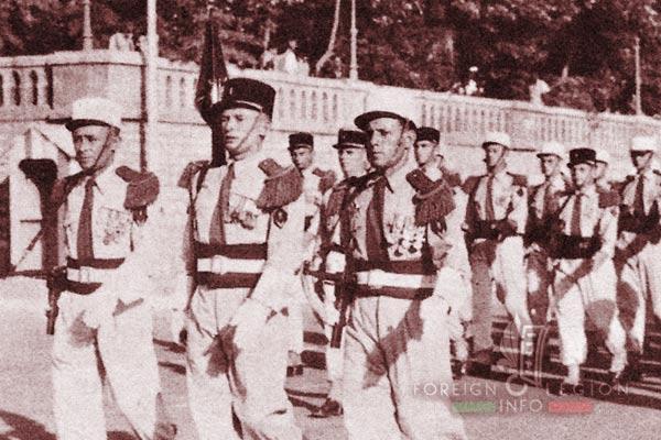 BLEM - Foreign Legion Madagascar Battalion - Foreign Legion Etrangere - 1961 - Djibouti - Camerone - 2 CIE - 2nd Company