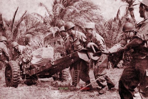 BLEM - Foreign Legion Madagascar Battalion - Foreign Legion Etrangere - 1961 - Madagascar - Artillery - Maneuver - GACM