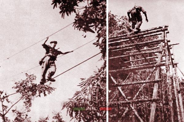 BLEM - Foreign Legion Madagascar Battalion - Foreign Legion Etrangere - 1961 - Madagascar - Cap Diego - Piste de la Jungle