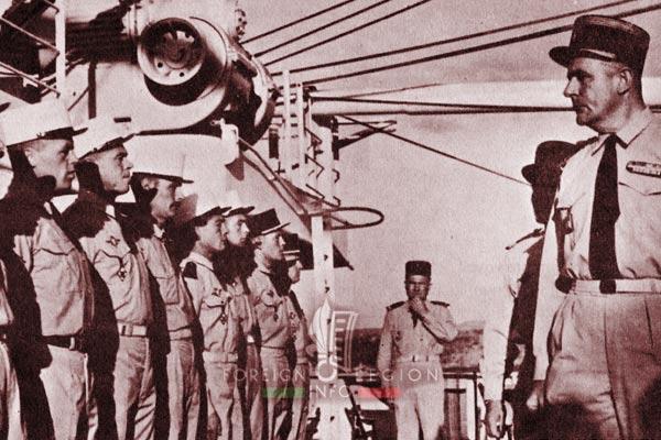 BLEM - Foreign Legion Madagascar Battalion - Foreign Legion Etrangere - 1961 - Madagascar - Desjeux - Drafts