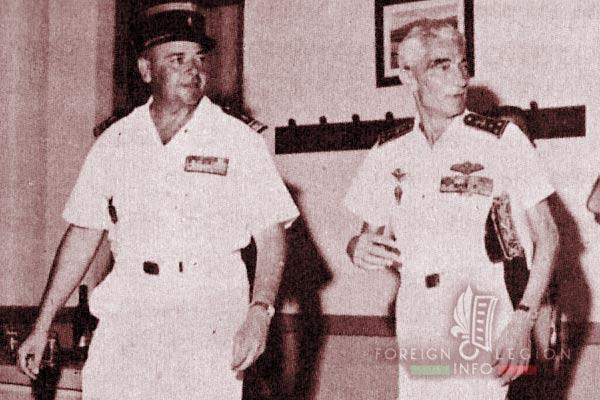 BLEM - Foreign Legion Madagascar Battalion - Foreign Legion Etrangere - 1962 - Madagascar - Louis Fournier - Charles Edward La Haye