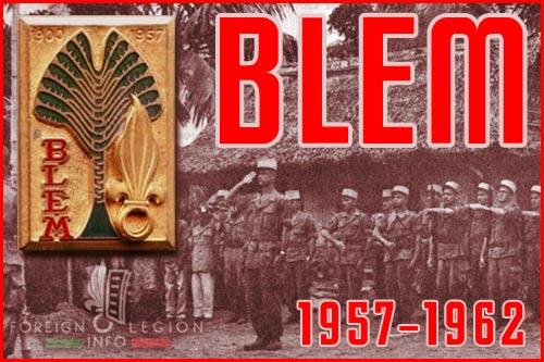 Bataillon de Légion étrangère de Madagascar - BLEM - Foreign Legion Madagascar Battalion - History