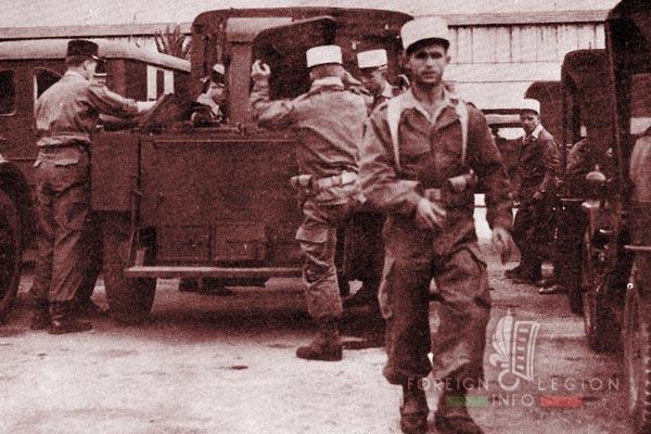 DLEM - Foreign Legion Madagascar Detachment - Foreign Legion Etrangere - 1956 - Algeria - Algiers