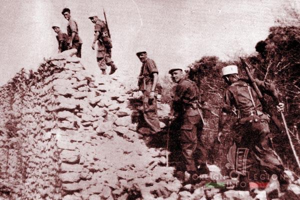 DLEM - Foreign Legion Madagascar Detachment - Foreign Legion Etrangere - 1956 - Diego Suarez - Madagascar - Montagne des Français