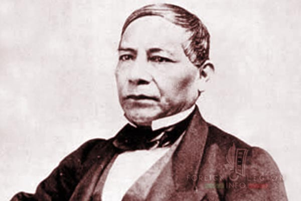 Battle of Camerone - Mexico - President - Benito Juárez