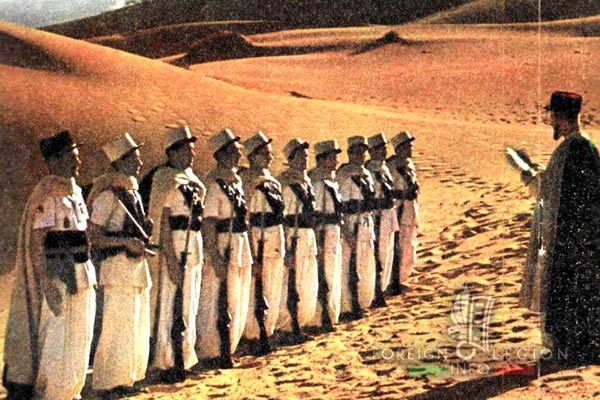 Narration of Camerone - Recit de Camerone - Foreign Legion - Camerone Day - Sahara - 1953