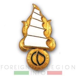Foreign Legion - Foreign Regiments Far East Disciplinary Company - CDRE EO - Badge - 1947
