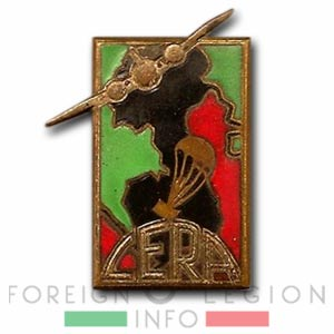 CERA - Foreign Airdrop Company - Insignia - Badge - Indochina - 1951