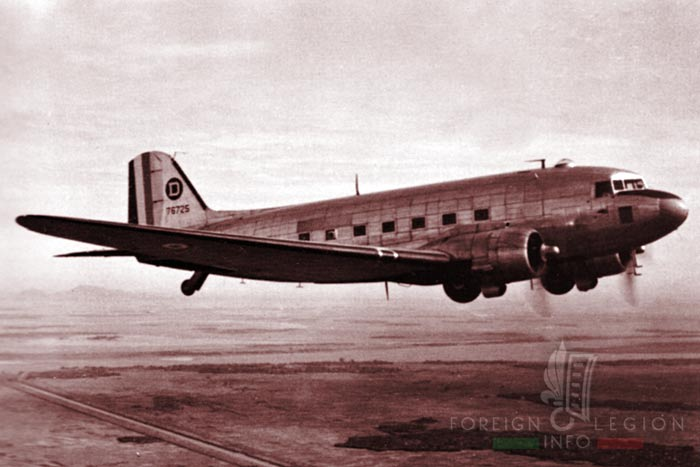 CERA - CRA - Foreign Airdrop Company - Airdrop Company - Indochina - Junkers JU 52 - 1950