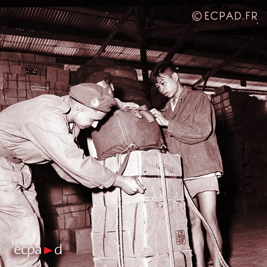 CERA - CRA - Foreign Airdrop Company - Foreign Legion - Indochina - 1950