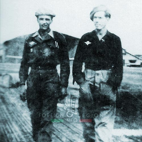 Cie Para - Parachute Company - 3 REI - Foreign Legion Etrangere - 1949 - Legionnaires - Hanoi - Gia Lam