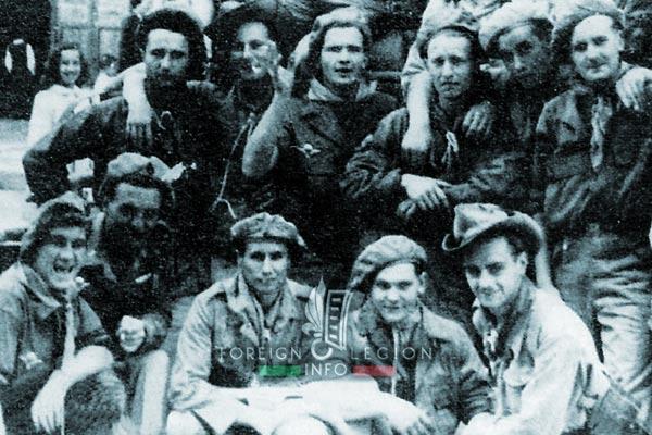 Cie Para - Parachute Company - 3 REI - Foreign Legion Etrangere - 1949 - Legionnaires - Hanoi