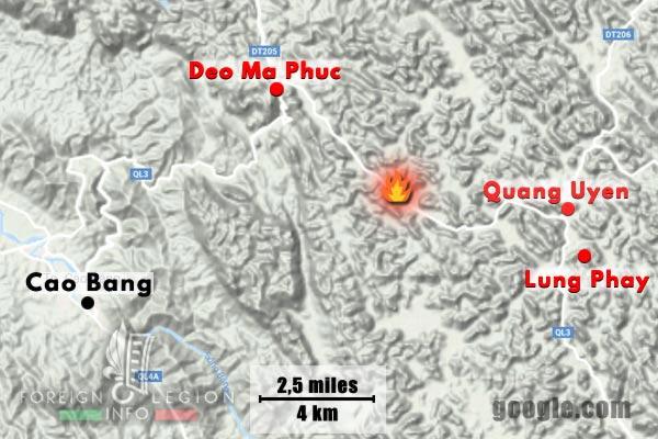 Cie Para - Parachute Company - 3 REI - Foreign Legion Etrangere - 1948 - Operations - Deo Ma Phuc - Quang Uyen - Lung Phay