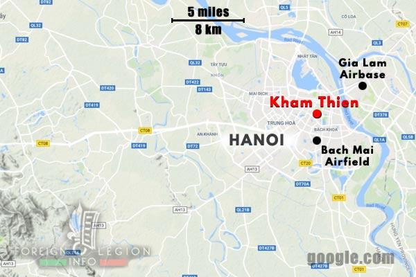 Cie Para - Parachute Company - 3 REI - Foreign Legion Etrangere - 1948 - Operations - Gia Lam - Kham Thien - Bach Mai