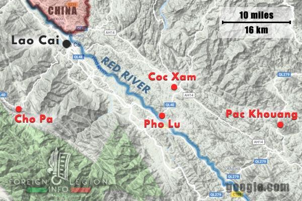 Cie Para - Parachute Company - 3 REI - Foreign Legion Etrangere - 1949 - Operations - Lao Cai - Cho Pa - Pho Lu - Coc Xam - Pac Khouang