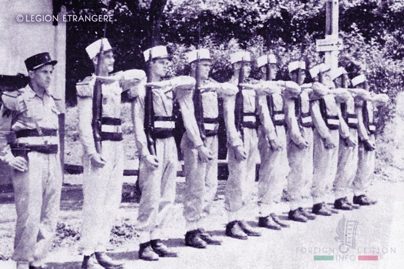 Foreign Legion Transit Company of Saigon - Fort Cai May - Guard