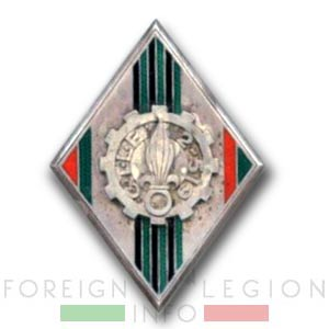 CTLE 2/519 - CTLE 2 - Foreign Legion Transportation Company - Insignia - Badge - Indochina - 1950