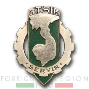 516e GT - 516 GT - Transportation Group - Insignia - Badge - Indochina - 1952