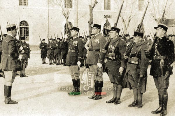 Escadron d'instruction - Legion Etrangere - Algérie - Sidi-Bel-Abbès - Quartier Viénot - 1939