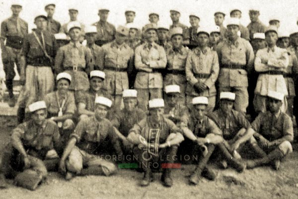 Section d'instruction - Legion Etrangere - Algérie - Sidi-Bel-Abbès - 1940