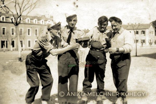 DCRE - Dépôt Commun - Legion Etrangere - Algérie - Saida - Instruction - 1946-1947
