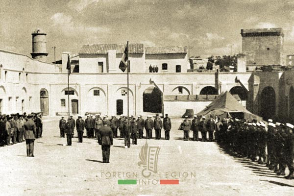DCRE - Depot de Marseille - Legion Etrangere - France - 1946