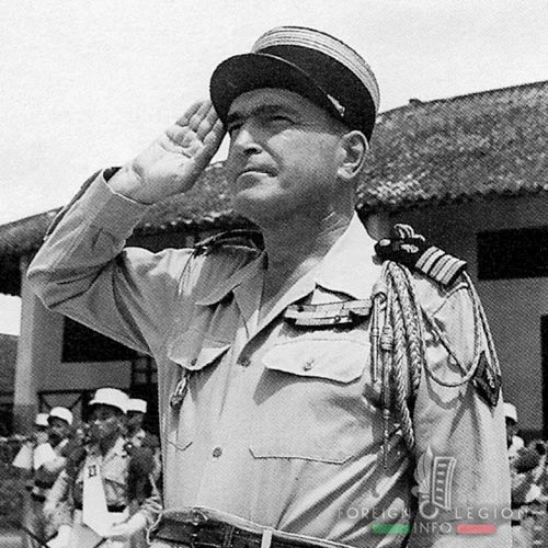 Dien Bien Phu - Legion - 13 DBLE - Lt Colonel - Jules Gaucher - First Indochina War