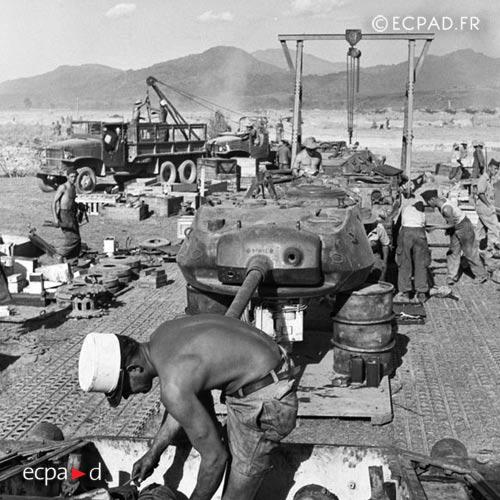 Dien Bien Phu - Legion - 2 CREBLE - 1954 - First Indochina War