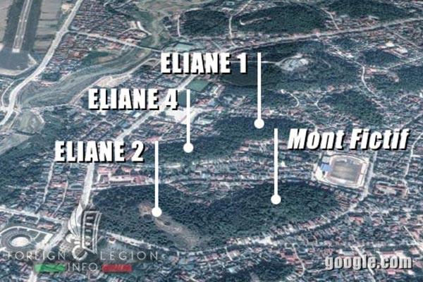 Dien Bien Phu - Eliane 1 - Eliane 2 - Eliane 4 - 1954 - First Indochina War