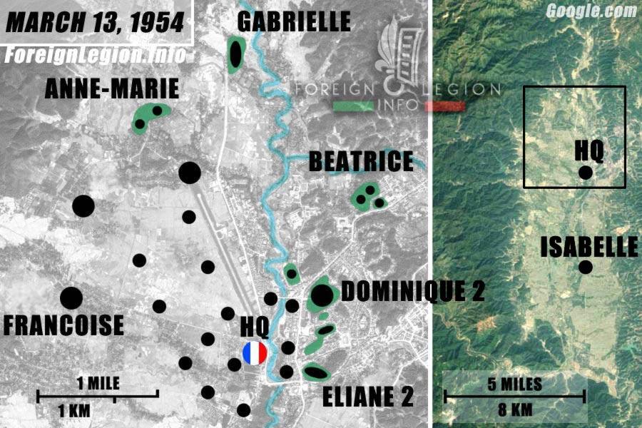 Dien Bien Phu - French Garrison - Camp - March 1954 - First Indochina War