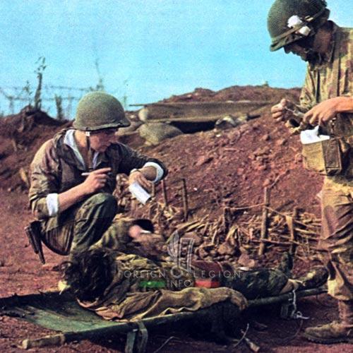Dien Bien Phu - Patrice de Carfort - 8 BPC - 1954 - First Indochina War