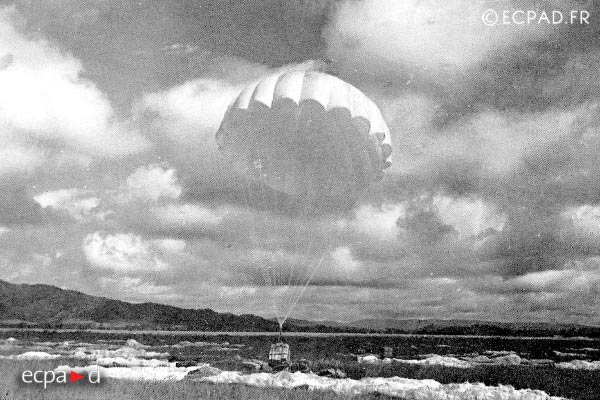 Dien Bien Phu - Supply - Airdrop - 1954 - First Indochina War