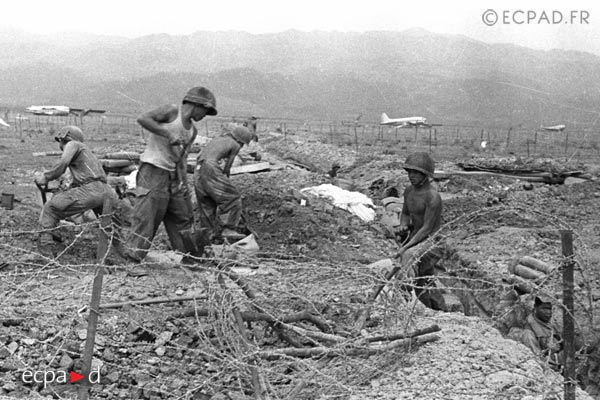 Dien Bien Phu - Trenches - 1954 - First Indochina War