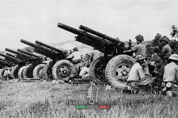 Dien Bien Phu - Viet Minh - Artillery - 1954 - First Indochina War