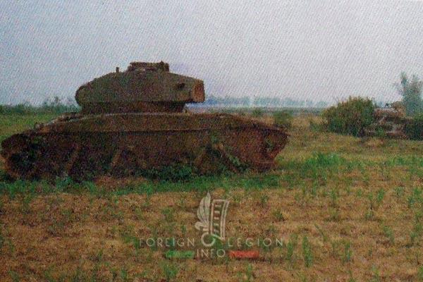 Dien Bien Phu - 1992 - Isabelle - M24 Chaffee - Tank