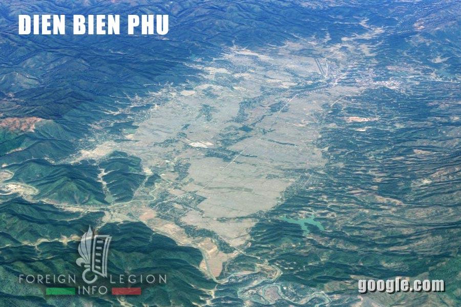 Dien Bien Phu Vietnam Map.Battle Of Dien Bien Phu French Foreign Legion Information