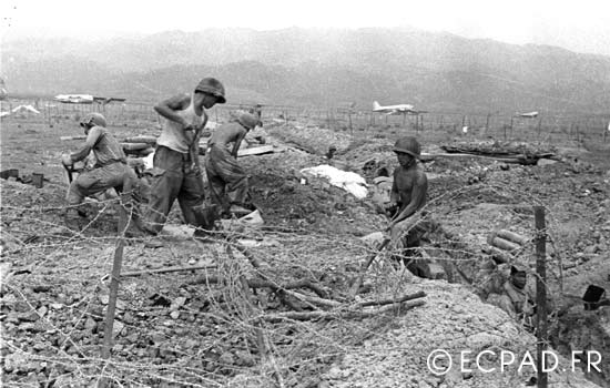 Dien Bien Phu - Indochina - First Indochina War - 1954