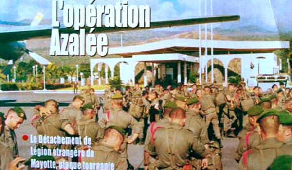 Legionnaires of the DLEM and Operation Azalee
