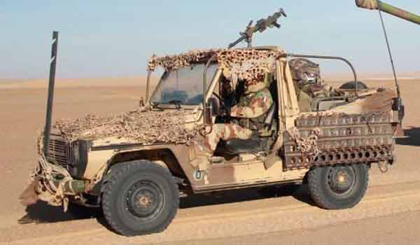 Peugeot P4 of the 1er REC in Chad