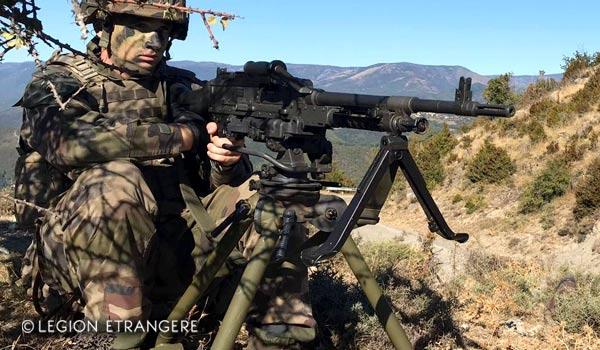 2e REI's Legionnaire - FN Herstal MAG 58 Machine Gun