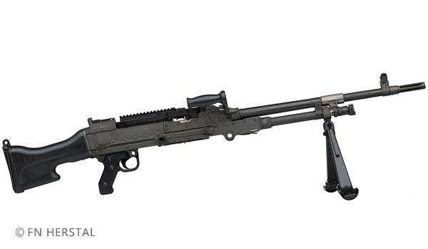 Foreign Legion - FN Herstal MAG 58 Machine Gun