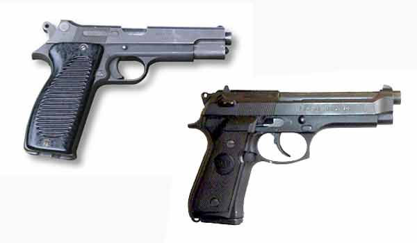 The PA MAC 50 and PAMAS G1 pistols used by the French Foreign Legion