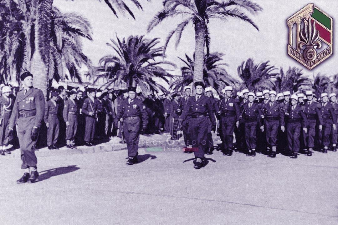 6e REI - 6 REI - Foreign Legion Etrangere - 1952 - Tunisia