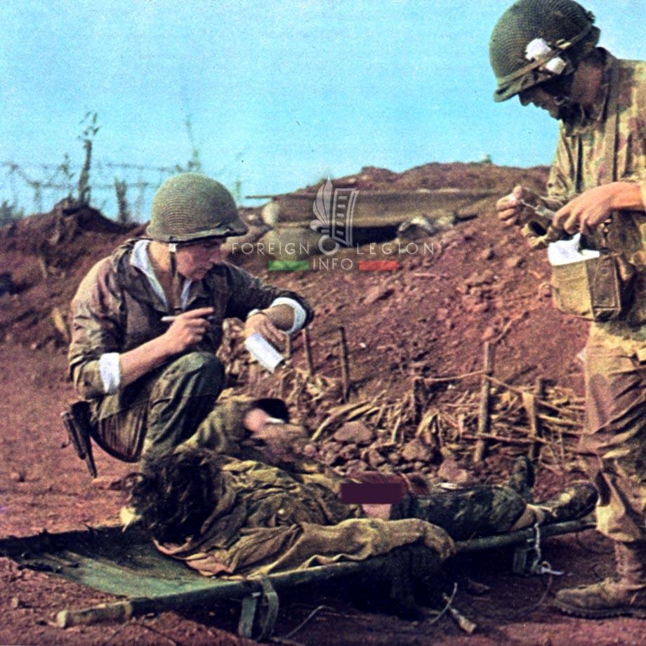 Dien Bien Phu - Lieutenant-medic Patrice de Carfort - 1954 - Indochina