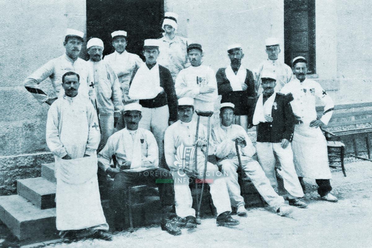 Foreign Legion Etrangere - legionnaires - 1913 - Sidi Bel Abbes - Algeria