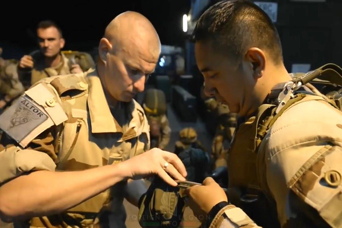 2e REP - 2 REP - Foreign Legion Etrangere - 2015 - Niger