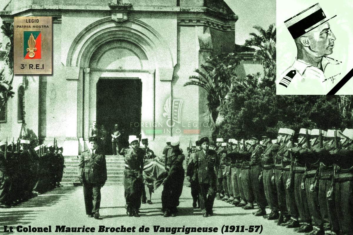 3e REI - 3 REI - Foreign Legion Etrangere - 1957 - Brochet de Vaugrigneuse - Algeria