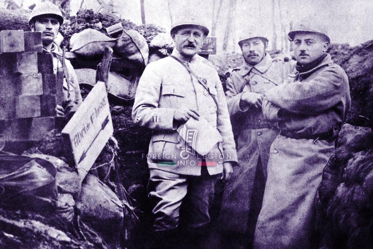 RMLE - Foreign Legion Etrangere - 1917 - Lt Colonel Duriez